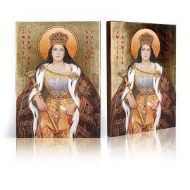 Ikona Święta Jadwiga - Królowa Polski (2)