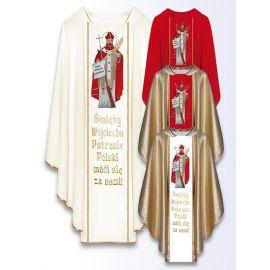 Ornat z wizerunkiem św. Wojciecha Patrona Polski