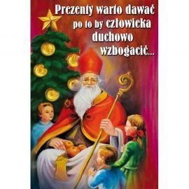 Plakat - Prezenty warto dawać po to, by człowieka duchowo wzbogacić...