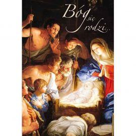 Plakat Bożonarodzeniowy – Bóg się rodzi (2)