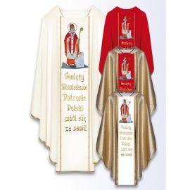 Ornat z wizerunkiem św. Andrzeja Boboli