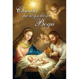 Plakat Bożonarodzeniowy – Chwała na wysokości Bogu
