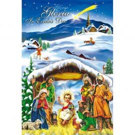 Plakat Bożonarodzeniowy – Gloria In Excelsis Deo (3)