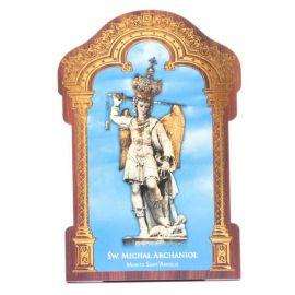 Obrazek HDF ze złotą ramką Święty Michał Archanioł