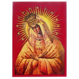 Matka Boża Ostrobramska - Ikona z modlitwą format A5