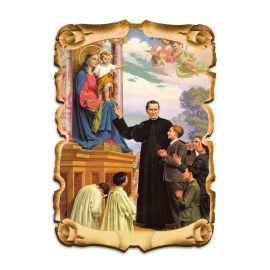 Obraz na HDF format A5 - Święty Jan Bosko