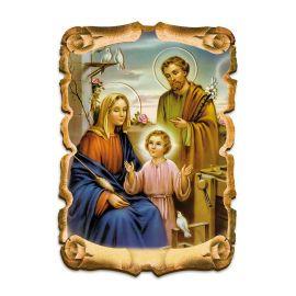 Obraz na HDF format A5 - Święta Rodzina (2)