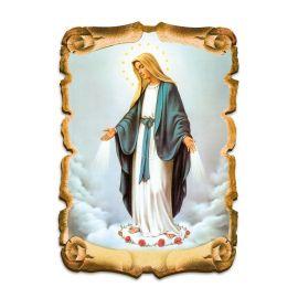 Obraz na HDF format A5 - Matka Boża Niepokalana