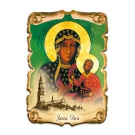 Obraz na HDF format A5 - Matka Boża Częstochowska (1)