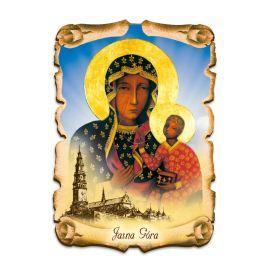 Obraz na HDF format A5 - Matka Boża Częstochowska (2)