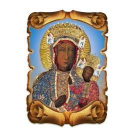 Obraz na HDF format A5 - Matka Boża Częstochowska (4)