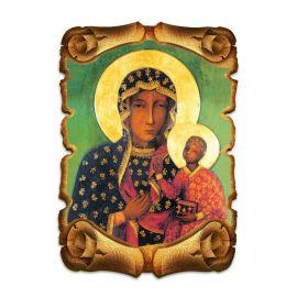 Obraz na HDF format A5 - Matka Boża Częstochowska (5)