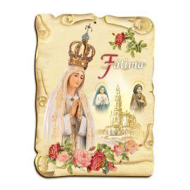 Obraz na HDF format A5 - Matka Boża Fatimska (1)