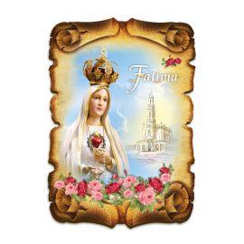 Obraz na HDF format A5 - Matka Boża Fatimska (2)