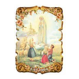 Obraz na HDF format A5 - Matka Boża Fatimska (3)