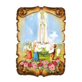Obraz na HDF format A5 - Matka Boża Fatimska (4)