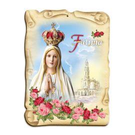 Obraz na HDF format A5 - Matka Boża Fatimska (5)