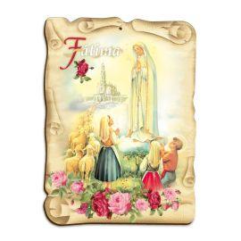 Obraz na HDF format A5 - Matka Boża Fatimska (6)