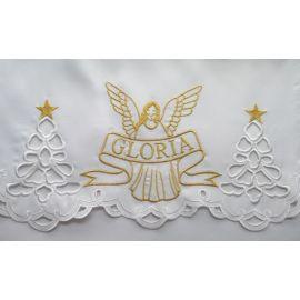 Obrus na Boże Narodzenie Gloria+ Anioł (4)