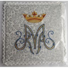 Palka haftowana wzór maryjny M (3)