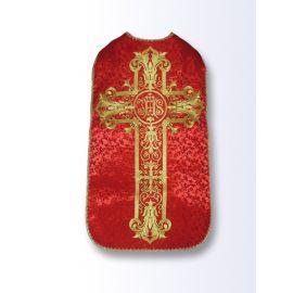 Ornat rzymski czerwony aksamit (48)