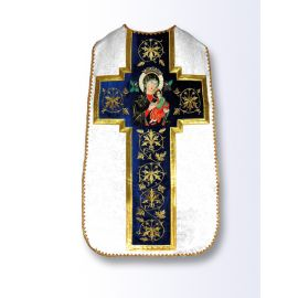 Ornat rzymski haftowany Matka Boża Nieustającej Pomocy