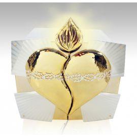 Tabernakulum mosiężne symbol gorejącego krzewu (50)