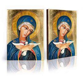 Ikona Pneumatofora Matka Boża niosąca Ducha Świętego