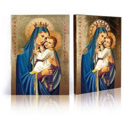 Ikona Matka Boża Szkaplerzna - Matka Boża z góry Karmel