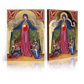 Ikona Matka Boża Prześladowanych Chrześcijan