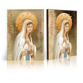 Ikona Matka Boża z Lourdes - Francja