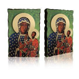 Ikona Matka Boża Częstochowska Wędrująca 40 x 60 cm