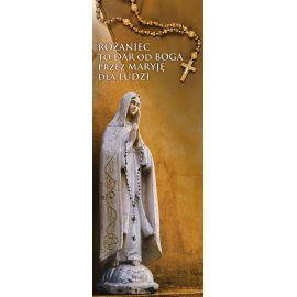 Baner Różaniec to dar od Boga przez Maryję dla ludzi