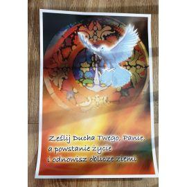 Plakat - Przybądź, duchu święty (3)