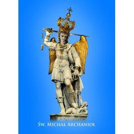 Święty Michał Archanioł - Ikona dwustronna format A5