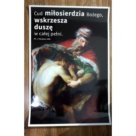Plakat Cud miłosierdzia