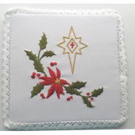 Bielizna kielichowa Boże Narodzenie - Gwiazda Betlejemska