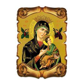 Obraz na HDF format A5 - Matka Boża Nieustającej Pomocy