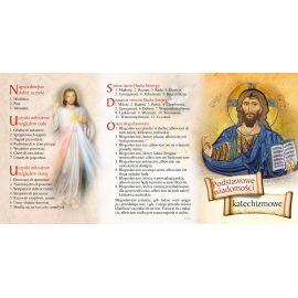 Folderek - Podstawowe Wiadomości Katechizmowe