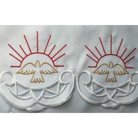 Obrus ołtarzowy haftowany - wzór Duch Święty (142)