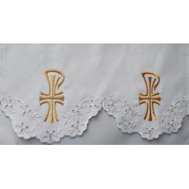 Obrus ołtarzowy haftowany - wzór eucharystyczny (137)