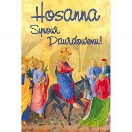 Plakat Wielkanocny - Hosanna Synowi Dawidowemu