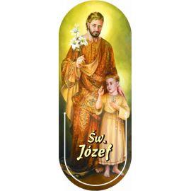 Święty Józef - Zakładka półokrągła syntetyczna (2)