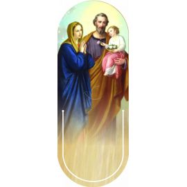 Święta Rodzina - Zakładka półokrągła syntetyczna (2)