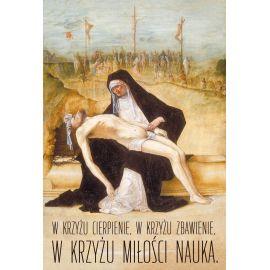 Plakat Wielkanocny - W krzyżu Miłości Nauka