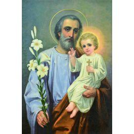 Święty Józef - Obraz do oprawienia format (20x25)
