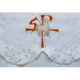 Obrus ołtarzowy haftowany - wzór Wielkanocny (69)