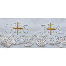 Obrus ołtarzowy haftowany - wzór eucharystyczny (126)