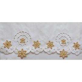 Obrus ołtarzowy haftowany - wzór eucharystyczny (124)