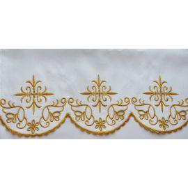 Obrus ołtarzowy haftowany - wzór eucharystyczny (93)